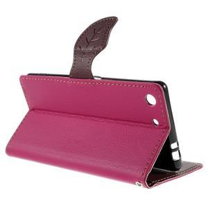 Blade Peňaženkové puzdro pre Sony Xperia M5 - rose - 5
