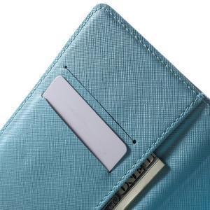 Stand Peňaženkové puzdro pre Sony Xperia M5 - malej sovy - 5