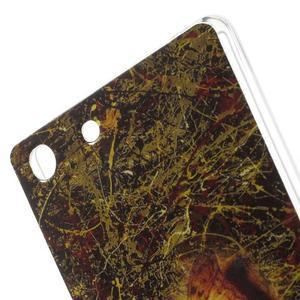 Gélový obal pre mobil Sony Xperia M5 - motýľ - 5