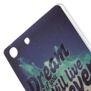 Gelovy obal na mobil Sony Xperia M5 - dream - 5