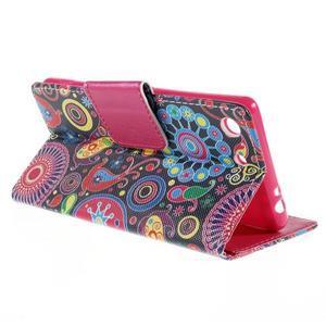 Crafty Peňaženkové puzdro pre Sony Xperia M5 - magic - 5