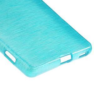Brush gelový obal pro Sony Xperia M5 - modrý - 5