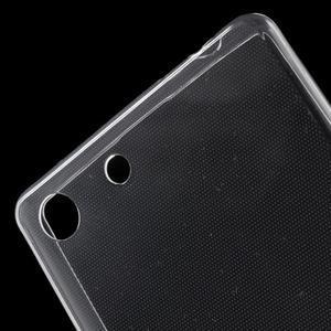 Ultratenký slim gelový obal na mobil Sony Xperia M5 - transparentní - 5