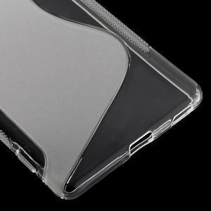 S-line gelový obal na mobil Sony Xperia M5 - transparentní - 5