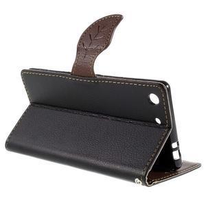 Blade Peňaženkové puzdro pre Sony Xperia M5 - čierne - 5