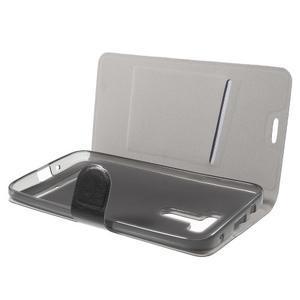 Horse peňaženkové puzdro pre Asus Zenfone Selfie ZD551KL - čierné - 5