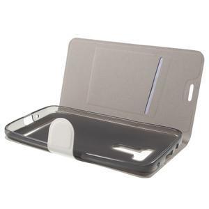 Horse peňaženkové puzdro pre Asus Zenfone Selfie ZD551KL - biele - 5