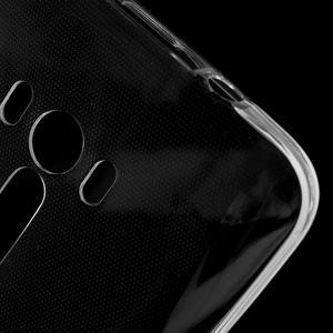 Ultratenký slim obal 0.6 mm na Asus Zenfone Selfie - transparentný - 5