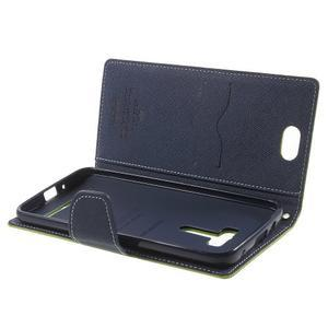 Mr. Goos peňaženkové puzdro pre Asus Zenfone Selfie ZD551KL - zelené - 5