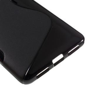 S-line gelový obal na mobil Honor 5X - černý - 5