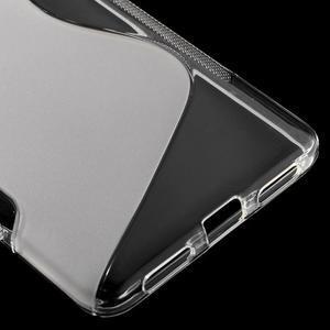 S-line gélový obal pre mobil Honor 5X - šedý - 5