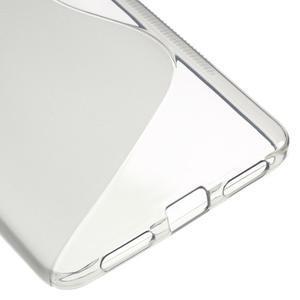 S-line gélový obal pre mobil Honor 5X - transparentný - 5