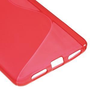 S-line gélový obal pre mobil Honor 5X - červený - 5