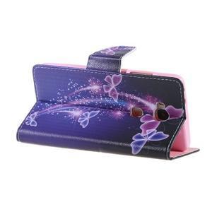 Knížkové puzdro pre mobil Honor 5X - čarovné motýľe - 5