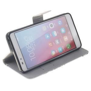 Peňaženkové puzdro pro mobil Honor 5X - láska - 5