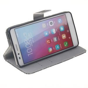 Peněženkové pouzdro pro mobil Honor 5X - vzorečky - 5