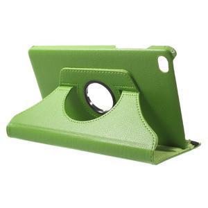 Otočné polohovatelné pouzdro na Huawei MediaPad M2 - zelené - 5