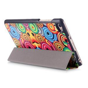 Třípolohové pouzdro na tablet Huawei MediaPad M2 8.0 - vortex - 5