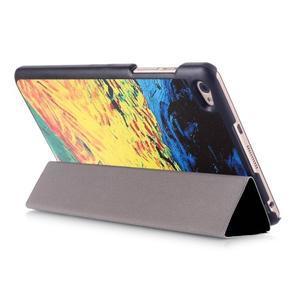 Třípolohové pouzdro na tablet Huawei MediaPad M2 8.0 - olejomalba - 5