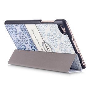 Trojpolohové puzdro na tablet Huawei MediaPad M2 8.0 - lorem ipsum - 5