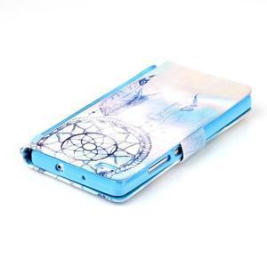 Picture PU kožené pouzdro na Huawei P8 Lite - lapač snů - 5