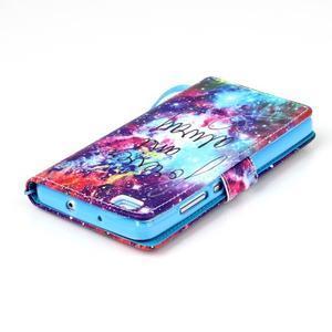 Picture PU kožené pouzdro na Huawei P8 Lite - navždy a vždy - 5