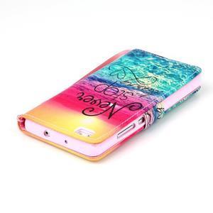 Picture PU kožené puzdro na Huawei P8 Lite - neprestávaj snívať - 5
