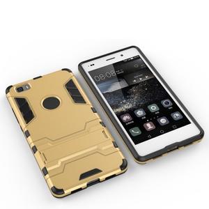 Odolný ochranný kryt na Huawei P8 Lite - zlatý - 5
