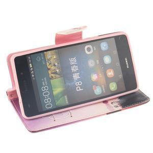Leathy PU kožené pouzdro na Huawei P8 Lite - užívej - 5