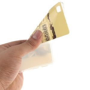 Flexi gelový obal na mobil Huawei P8 Lite - Velká Británie - 5