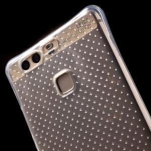 Transparentní gelový obal se zesílenými rohy na Huawei P9 Lite - 5