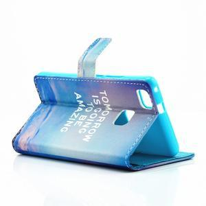Knižkové puzdro na mobil Huawei P9 Lite - tomorrow - 5