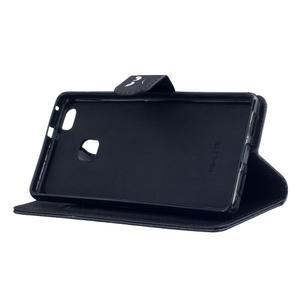 Peněženkové PU kožené pouzdro na Huawei P9 Lite - nevěř nikomu - 5