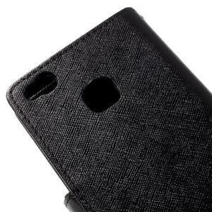 Easy peněženkové pouzdro na mobil Huawei P9 Lite - černé - 5