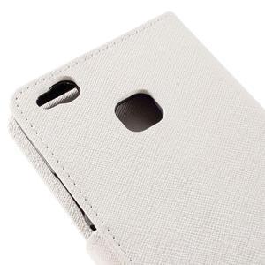 Easy peněženkové pouzdro na mobil Huawei P9 Lite - bílé - 5
