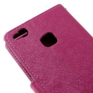 Easy peněženkové pouzdro na mobil Huawei P9 Lite - rose - 5