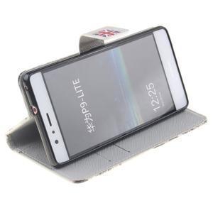 Knížkové PU kožené pouzdro na Huawei P9 Lite - United Kingdom - 5
