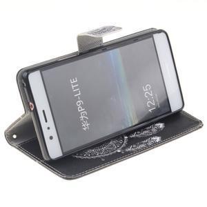 Floaty peňaženkové puzdro na mobil Huawei P9 Lite - lapač snov - 5
