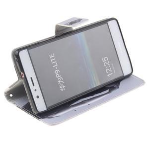 Floaty peněženkové pouzdro na mobil Huawei P9 Lite - sexy dívka - 5