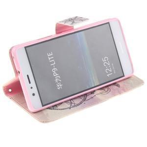 Floaty peněženkové pouzdro na mobil Huawei P9 Lite - lapač snů - 5