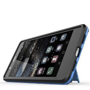 Odolný obal na mobil Huawei P9 Lite - modrý - 5