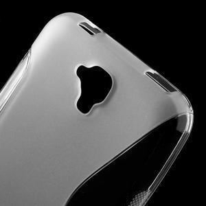 S-line gelový obal na mobil Huawei Y5 a Y560 - transparentní - 5