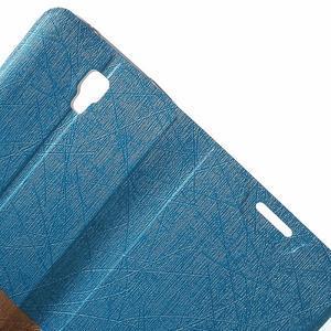 Lines knížkové pouzdro na Huawei Y5 a Y560 - modré - 5