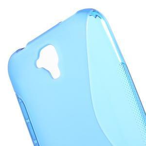 S-line gelový obal na mobil Huawei Y5 a Y560 - modrý - 5