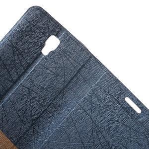 Lines knížkové pouzdro na Huawei Y5 a Y560 - tmavěmodré - 5
