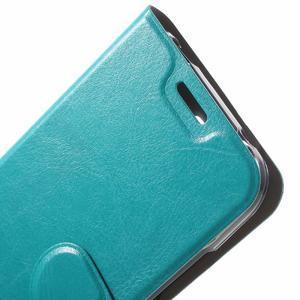 Horse peňaženkové puzdro na mobil Huawei Y5 a Y560 - modré - 5