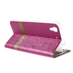 Lines pouzdro na mobil Huawei Y6 - rose - 5