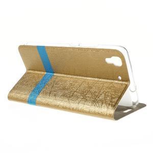 Lines pouzdro na mobil Huawei Y6 - zlaté - 5