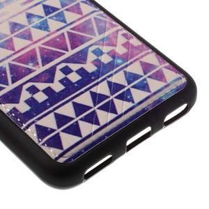 Sally gelový obal na mobil Huawei Y6 - geo tvary - 5