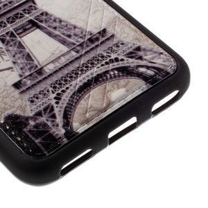 Sally gelový obal na mobil Huawei Y6 - Eiffelova věž - 5